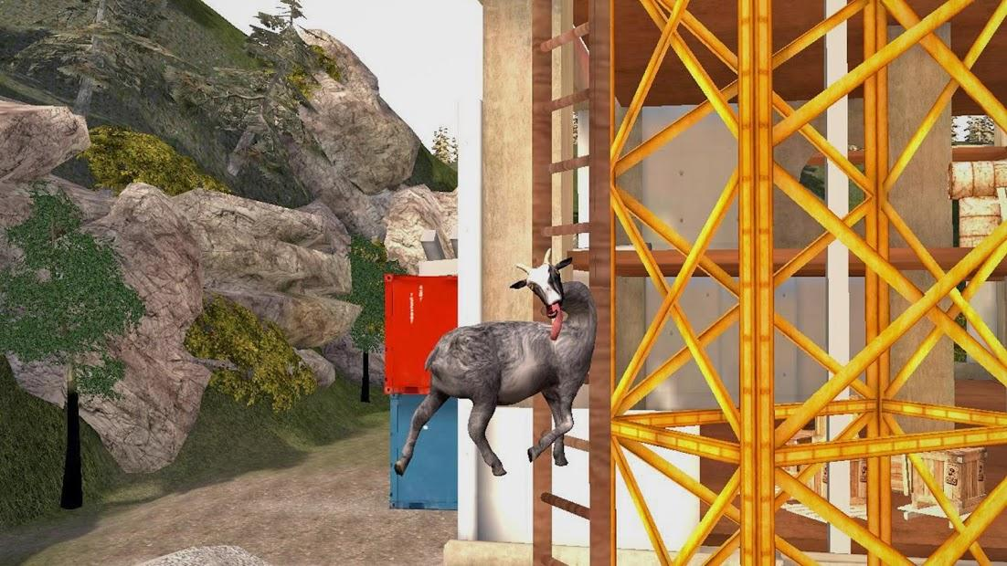 Скачать игру на андроид goat simulator goatz
