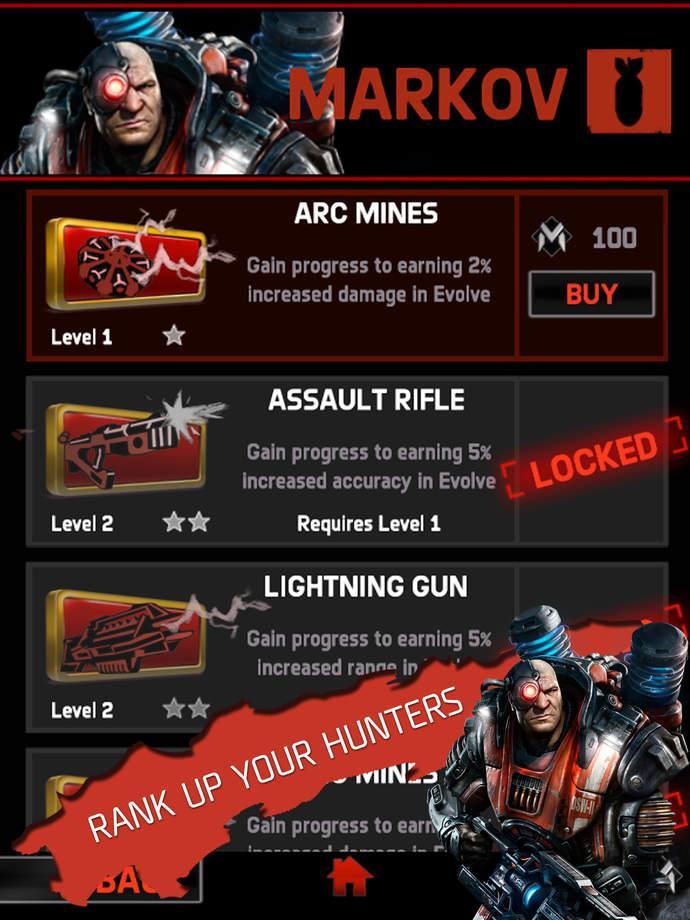 OS: Android 4.0 Описание: Evolve: Hunters Quest - боевая головоломка из жан