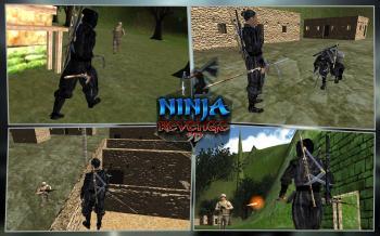 Воин ниндзя Убийца 3D