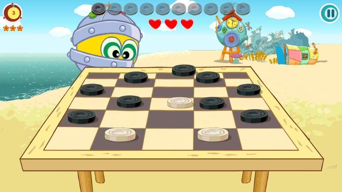 Рисунок игра в шашки