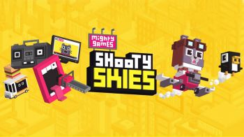 Shooty Skies - Aracde Flyer