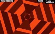 Super Hexagon - скриншот