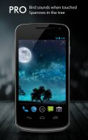 Dream Night Pro Live Wallpaper - скриншот
