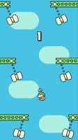 Swing Copters - скриншот