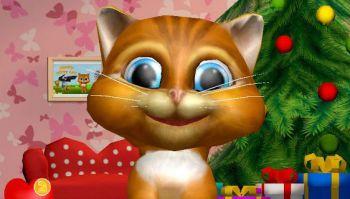 Говорящая кошка Диана 3D
