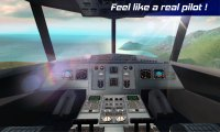 Real Pilot Flight Simulator 3D - скриншот