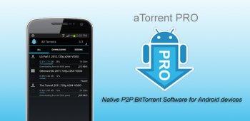aTorrent PRO - торрент