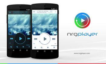 NRG Player плеер для музыки