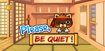 Please Be Quiet! Virtual Pet