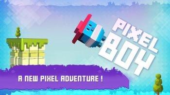 Pixel boy