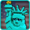 USA Block Craft Exploration 3D