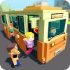 Mr. Blocky City Bus SIM логотип