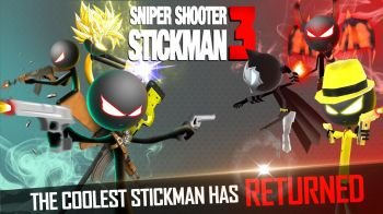 Sniper Shooter Stickman 3 Fury: Gun Shooting Games