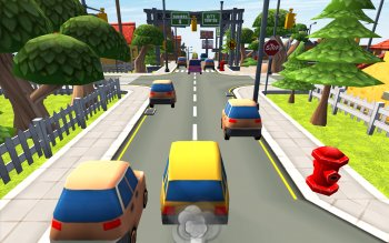City Car Run: Street Racing Rush 3D