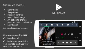Musicolet Music Player [Free, No ads]